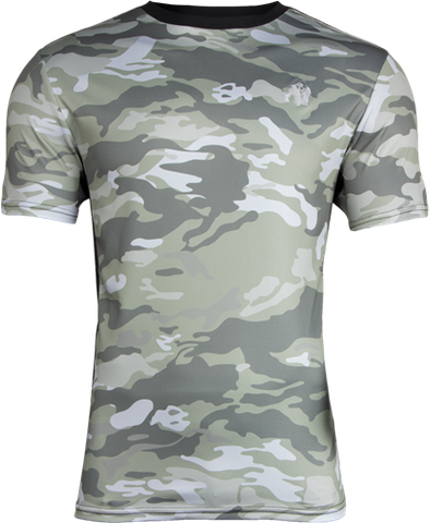 Gorilla Wear Kansas Tee Army Green Camo