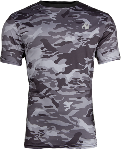 Gorilla Wear Kansas Tee Black / Grey Camo