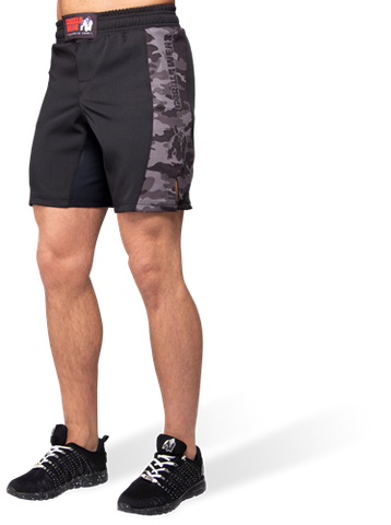 Gorilla Wear Kensington MMA Fight Shorts Black Camo