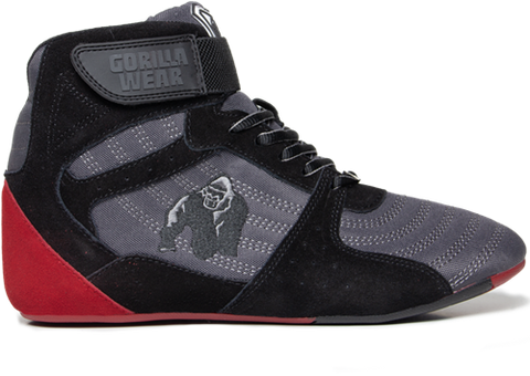 Gorilla Wear Perry High Top Pro Boots Grey / Red