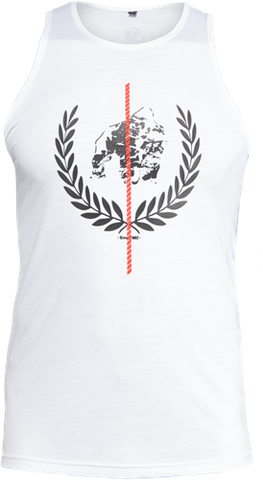 Gorilla Wear Rock Hill Tank White