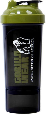 Gorilla Wear Compact Shaker Army Green