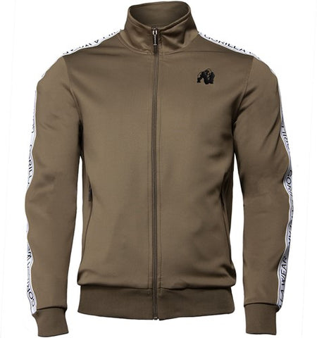 Gorilla Wear Wellington Track Jacket Olive Green