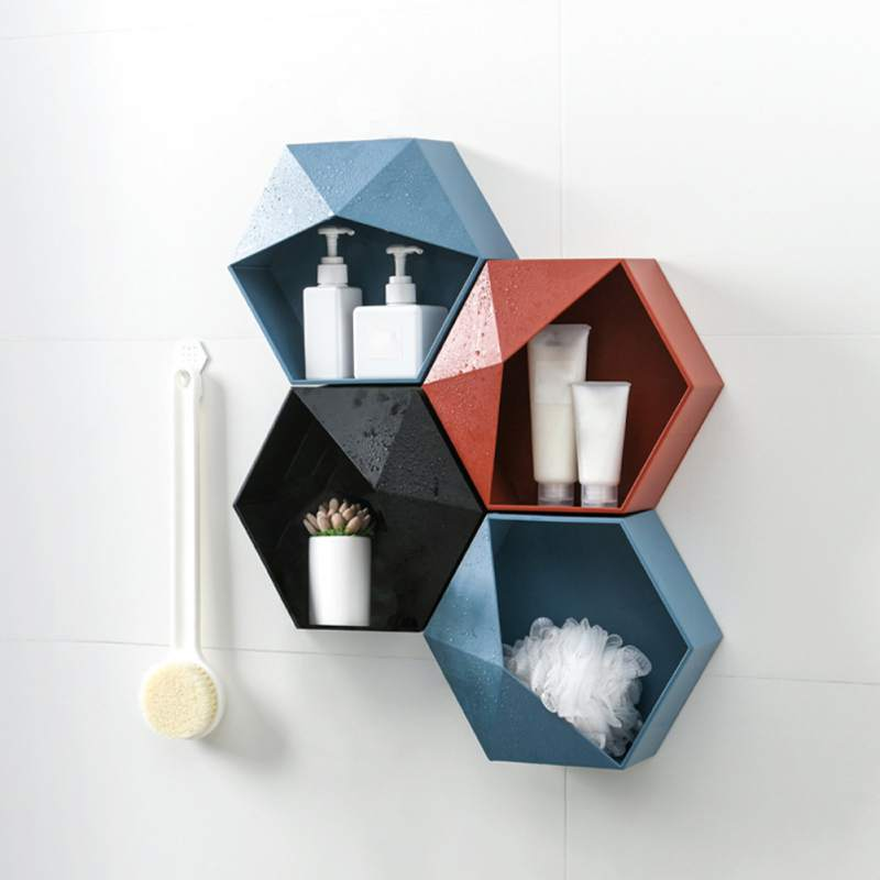 Geometric Floating Shelf