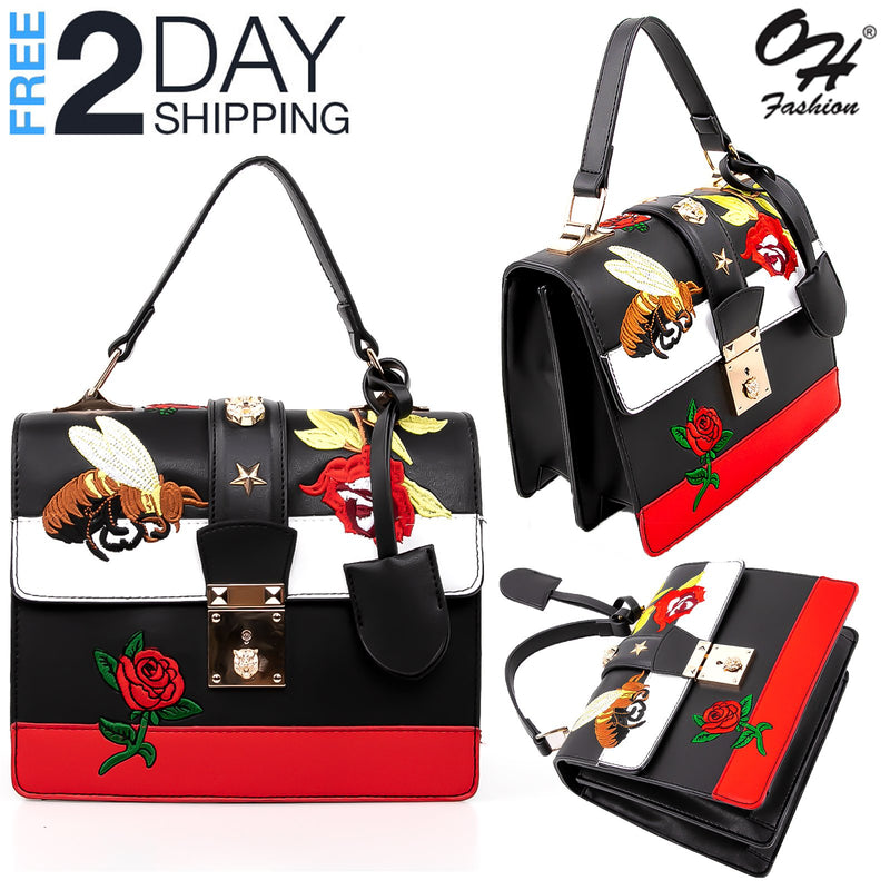 OH Fashion Handbag Edgy in Black