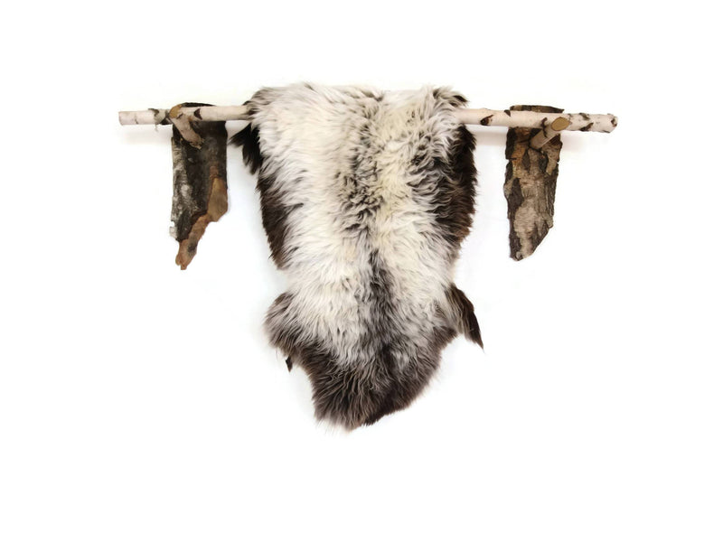 Gray Rare Breed Sheepskin Rug. | HUGE 140cm