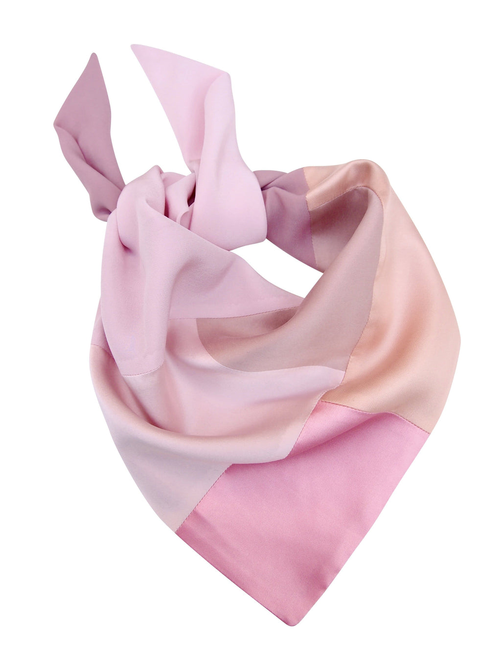 Seidentuch rose pink Damen