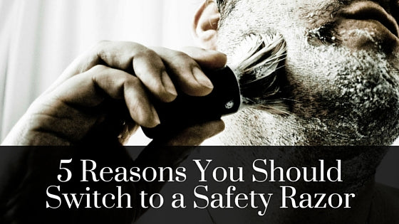5 Reasons You Should Switch to a Safety Razor - Baby Butt Smooth Shave Company