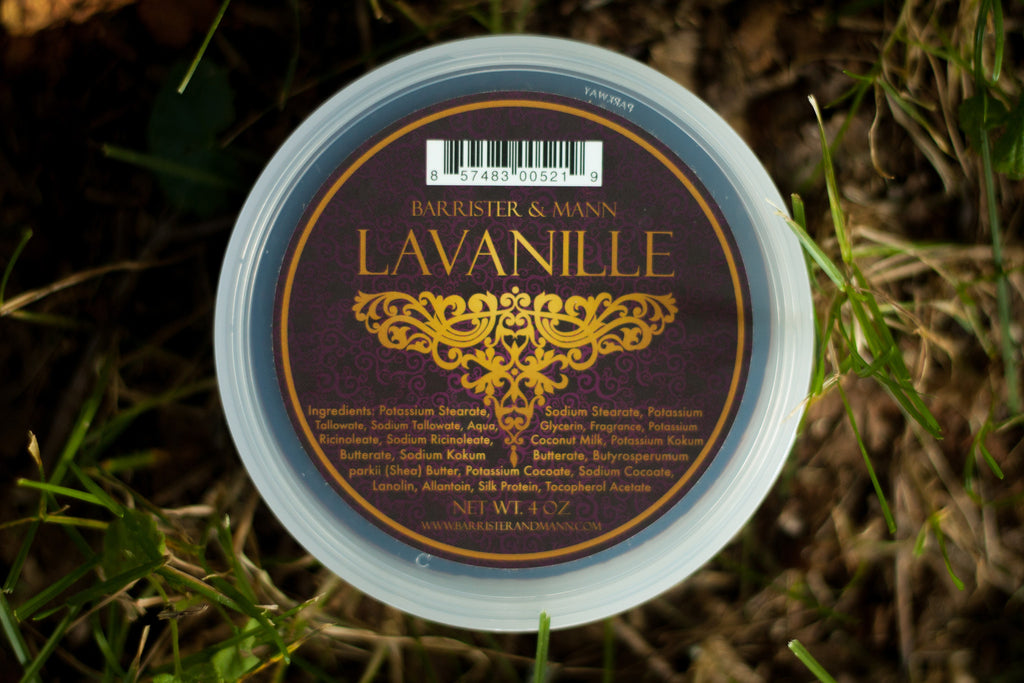 Barrister & Mann Lavanille Tallow Shaving Soap