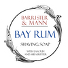 Barrister & Mann Bay Rum Tallow Shaving Soap Label