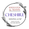 Barrister & Mann Cheshire Tallow Shaving Soap Label
