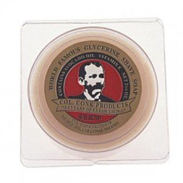 Colonel Conk Bay Rum Shave Soap in packaging