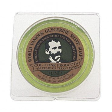 Colonel Conk Lime Shave Soap