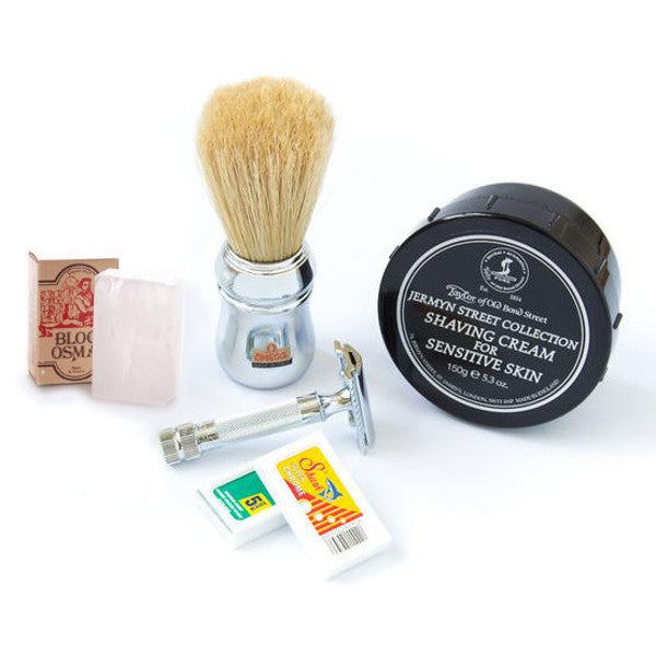 Pro Safety Razor Kit with Merkur Razor