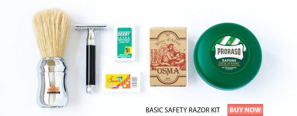 Basic Safety Razor Kit Landscape