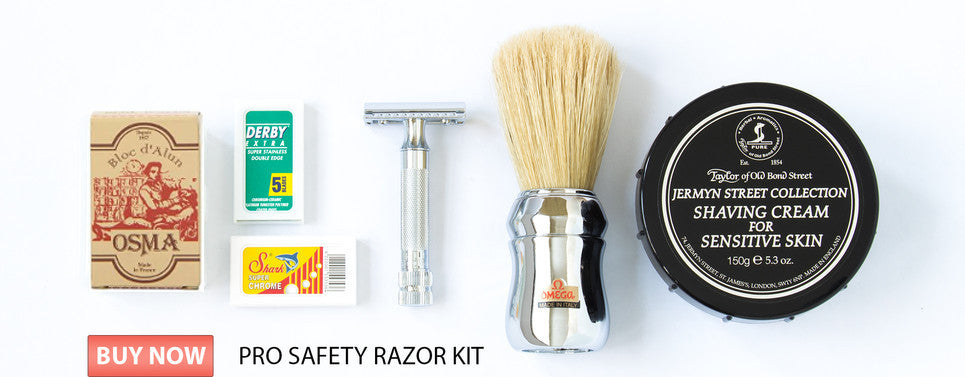 Pro Safety Razor Kit Landscape