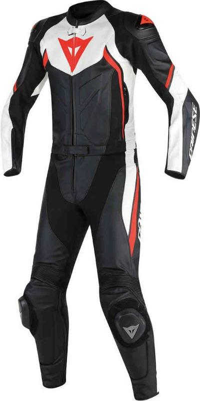 Men Dainese Avro D2 Two Piece Motorcycle Leather Suit