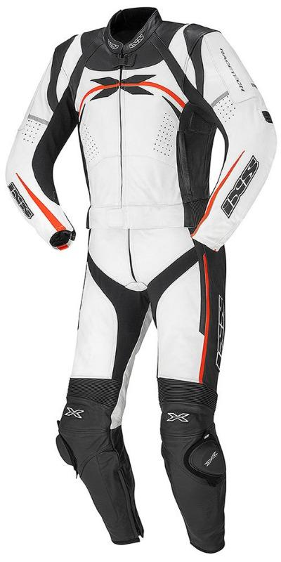 Men IXS Camaro Two Piece Leather Suit