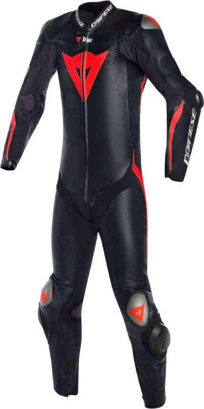 Men Dainese Mugello R D-Air One Piece Motorcycle Airbag Leather Suit