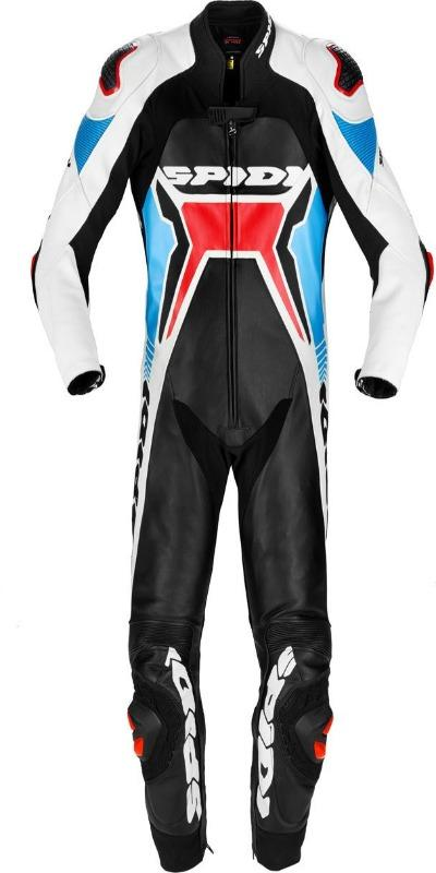 Men Spidi Warrior 2 Wind Pro One Piece Motorcycle Leather Suit