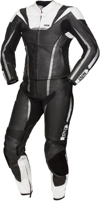 IXS Sport LD RS-1000 Two Piece Ladies Motorcycle Leather Suit