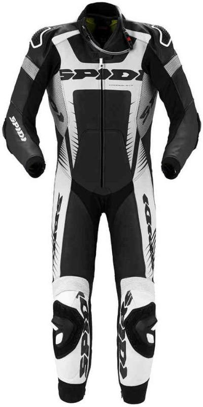 Men Spidi Warrior Wind Pro One Piece Motorcycle Leather Suit