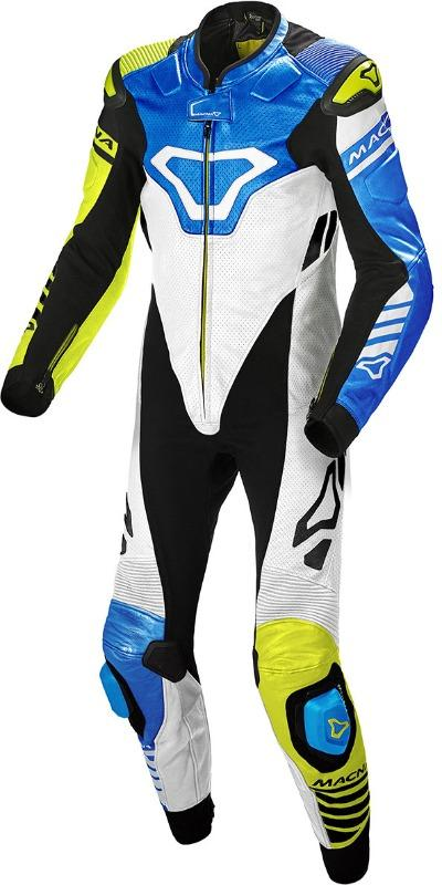 Macna Tracktix One Piece perforated Motorcycle Leather Suit