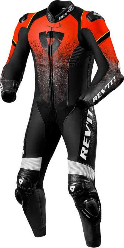 Men Revit Quantum One Piece Motorcycle Leather Suit