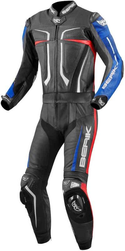 Berik Flumatic Evo Two Piece Motorcycle Leather Suit Men