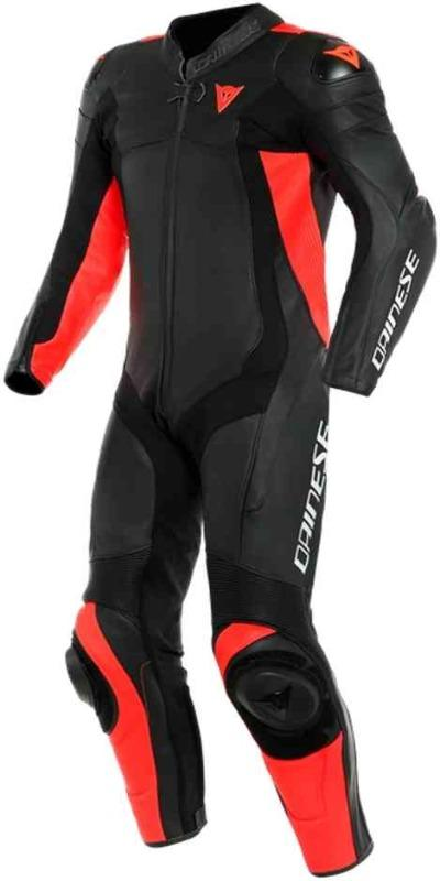 Men Dainese Assen 2 One Piece Perforated Motorcycle Leather Suit