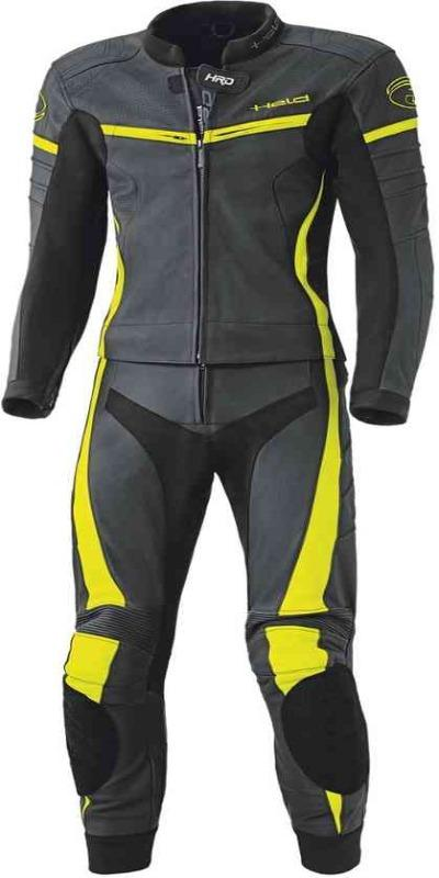 Men Held Spire Two Piece Motorcycle Leather Suit