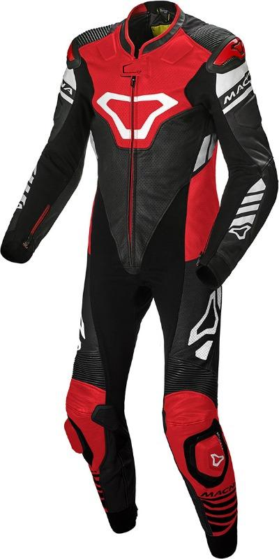 Tracktix One Piece perforated Motorcycle Leather Suit