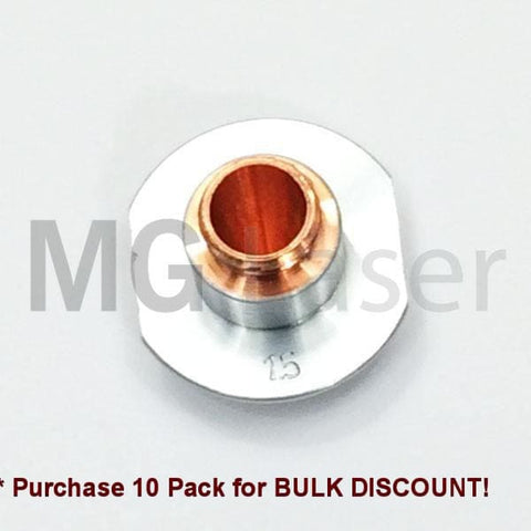 Side Blow Nozzle Chrome Plated 1.5Mm Cutting Head