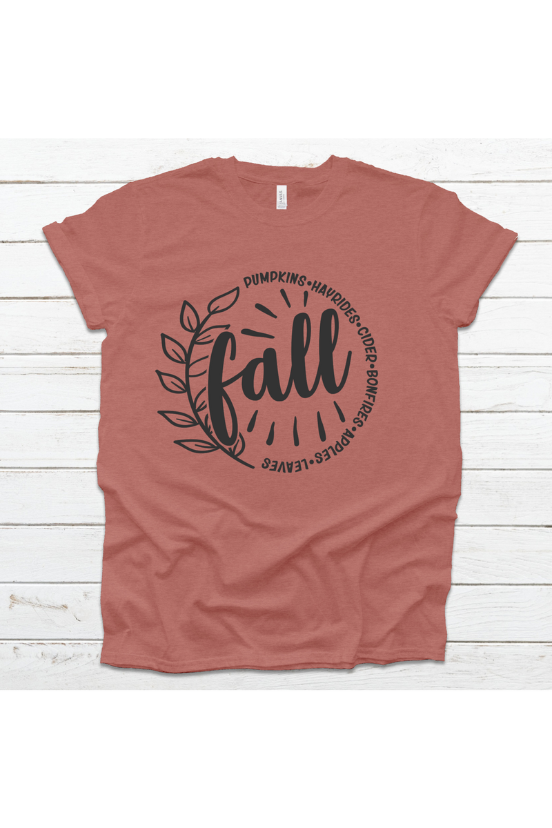 Bella Canvas Fall Tee