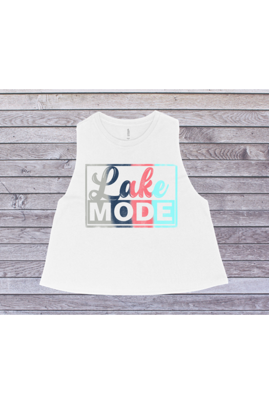 Lake Mode Crop Tank