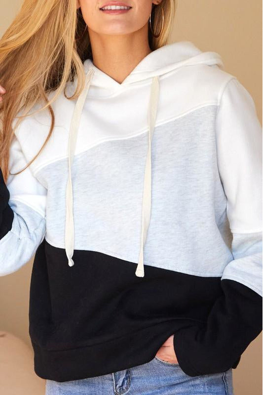Color Block Cozy Sweatshirt