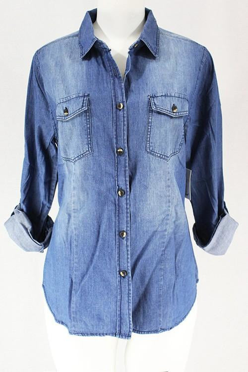Denim Button up shirt