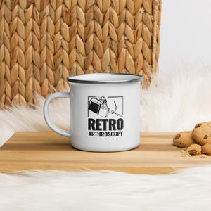TMG Retro Arthroscopy Enamel Mug