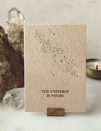 Minikarte – The universe is yours