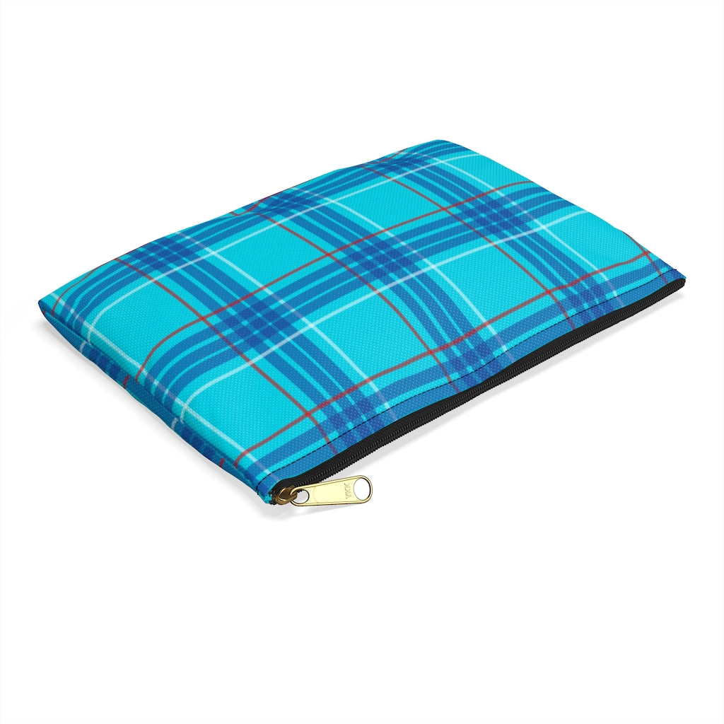 Dawson Plaid Accessory Pouch