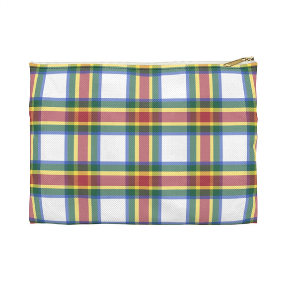 Whiskey Plaid Accessory Pouch