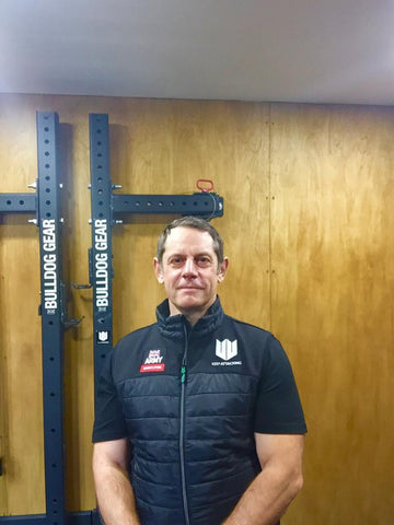 Garry Jackson – Veteran (30 years of service) and Weightlifting Coach - Garry's Keep Attacking Story. Click to read more on the sports and wellbeing blog from Keep Attacking.