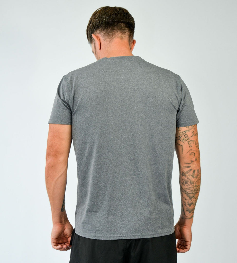 KA Mens Progression T-Shirt Grey Black Back