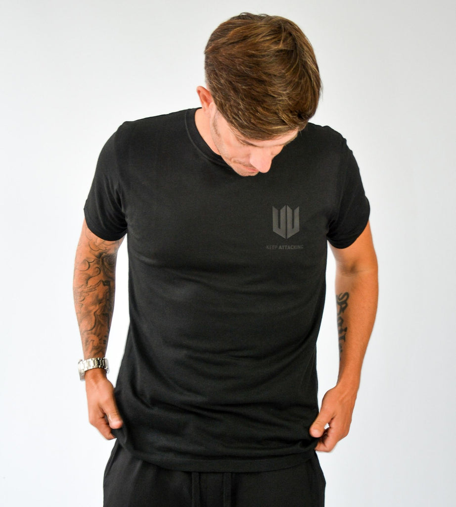 KA Mens Emblem T-Shirt Black Edition