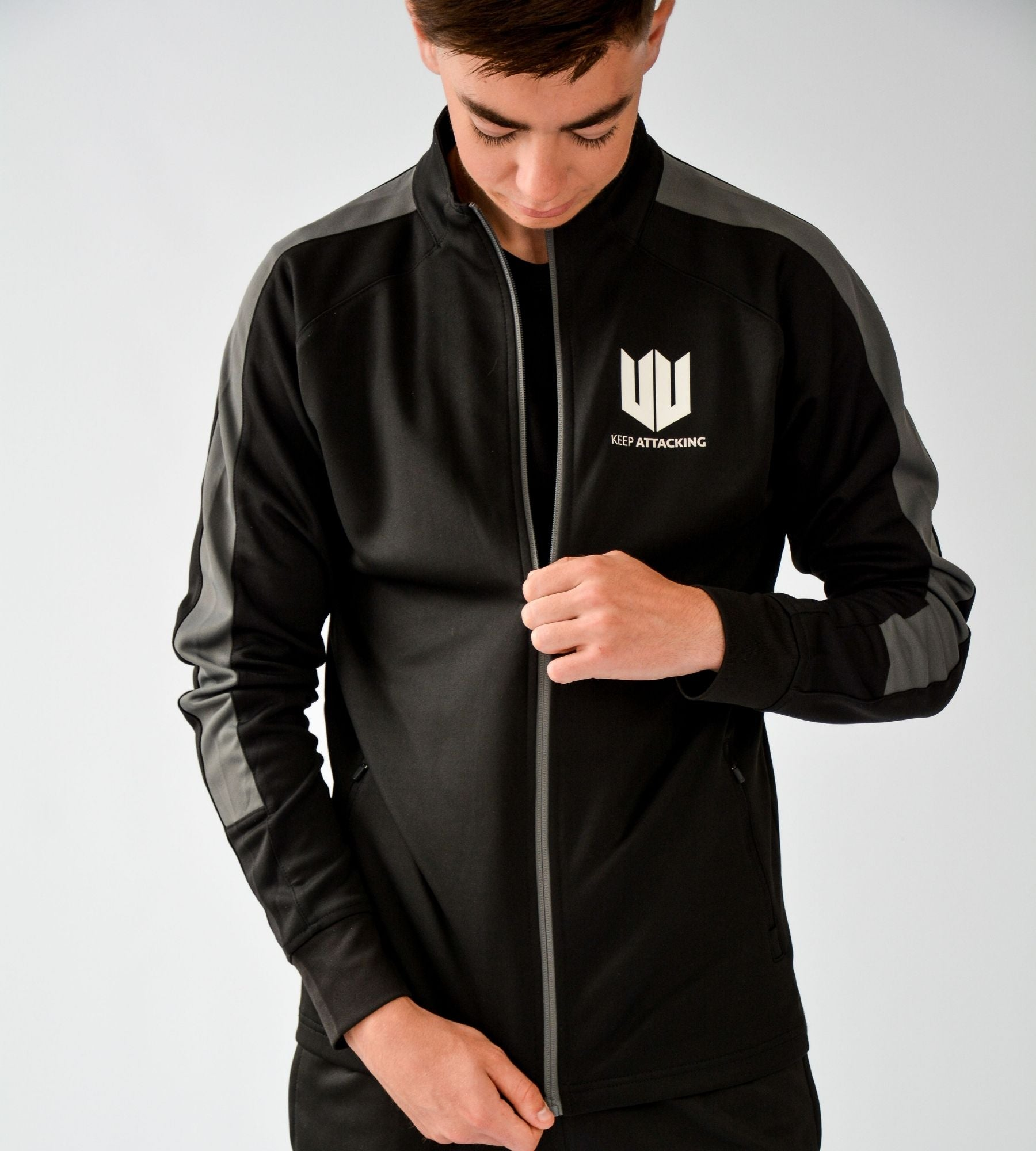 KA Mens Resilience Training Tracksuit Top Lifestyle