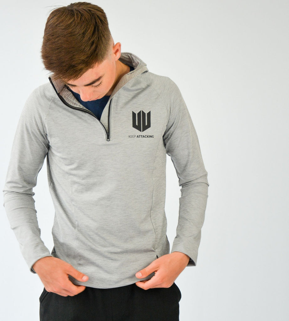 KA Mens Resilience Zip Pullover lifestyle