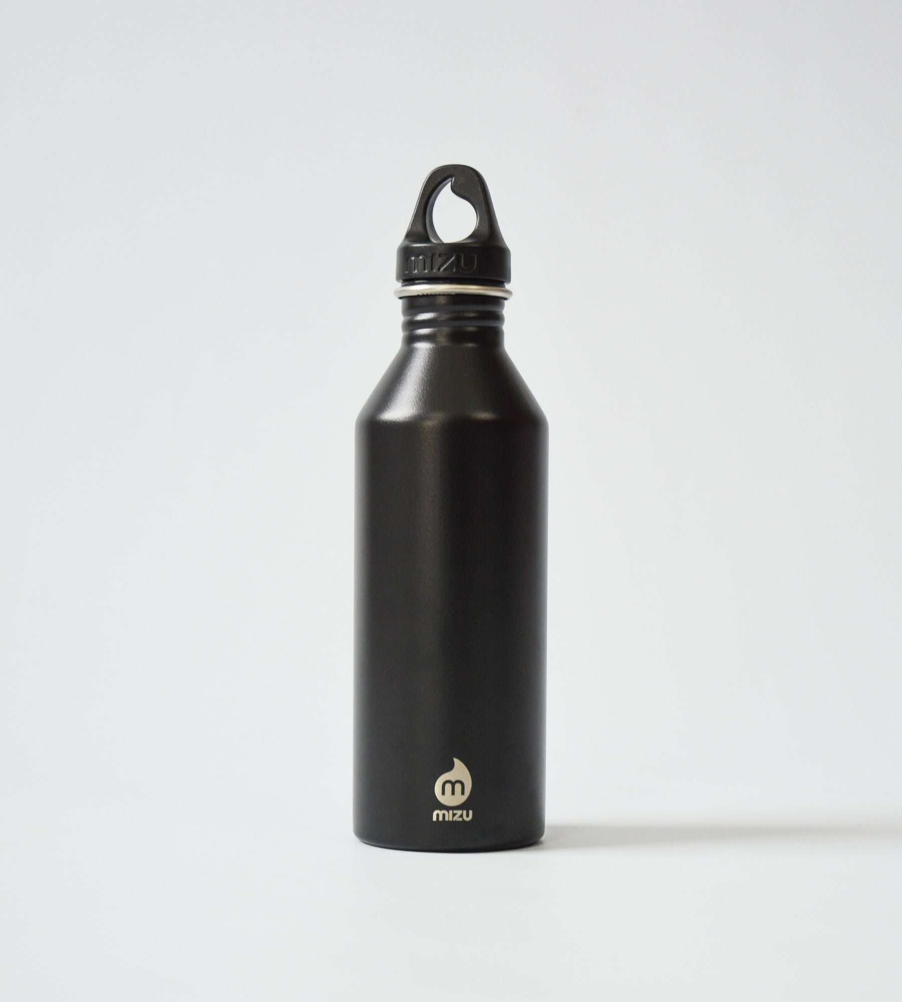 KA Water Bottle Black Cap On Back