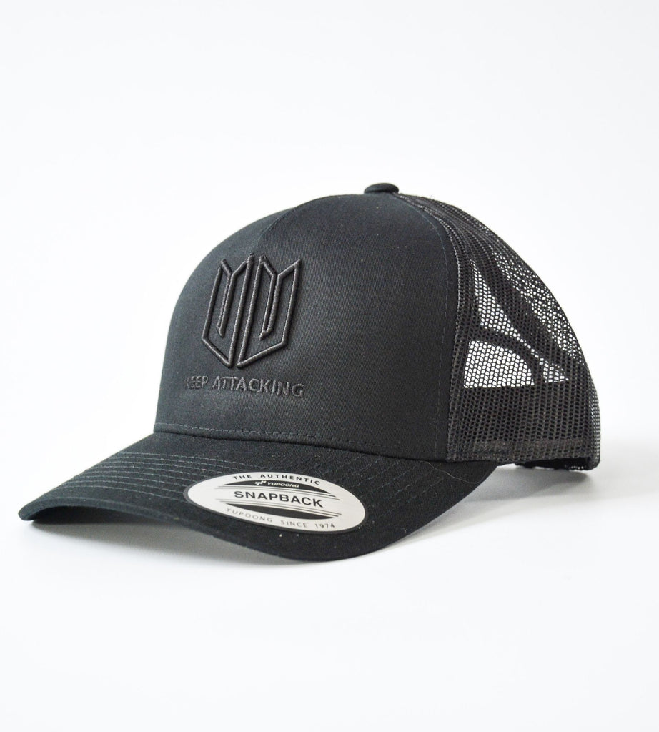 Stealth Black 3D KA Cap