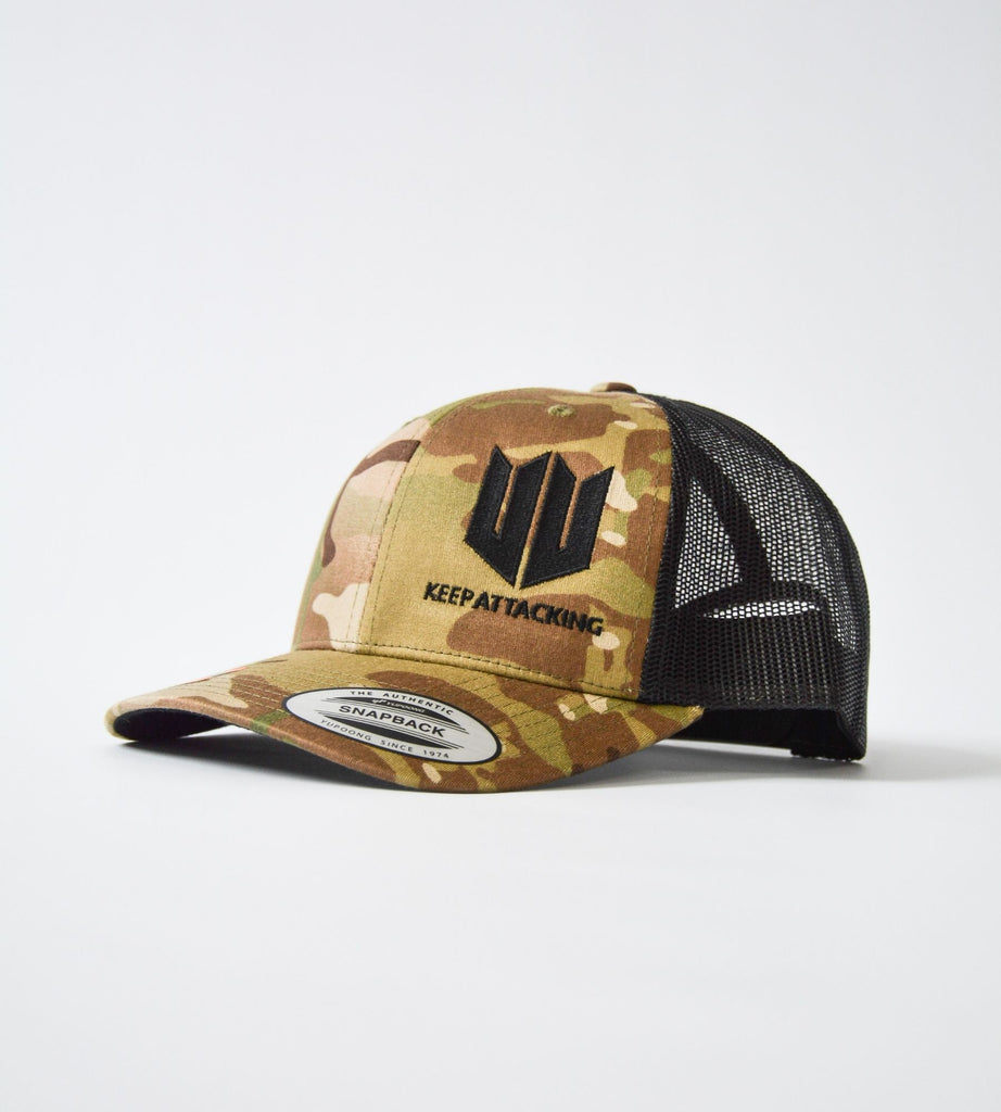 Multicam KA Snapback Cap Side