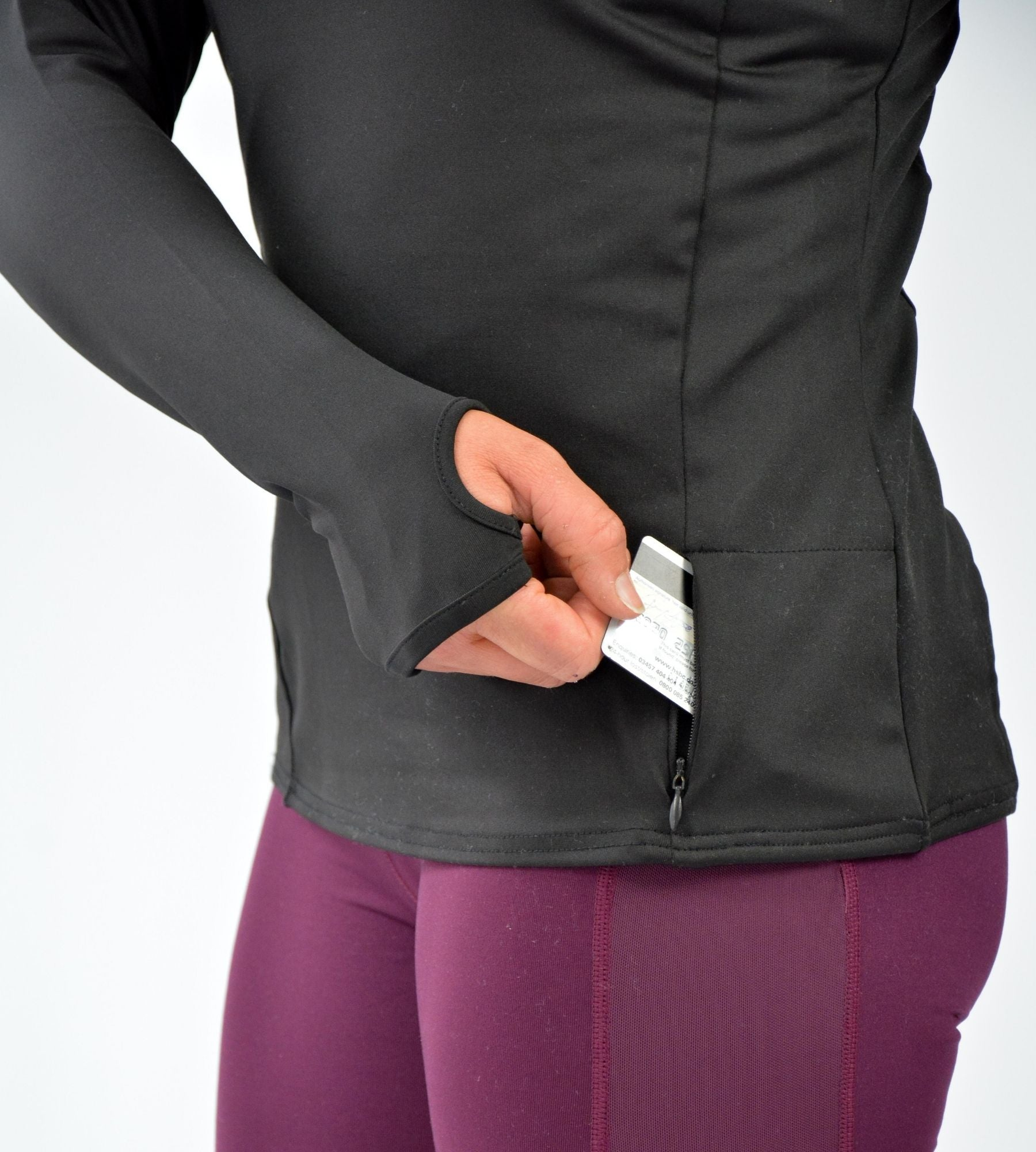 KA Womens Resilience Zip Pullover Pocket